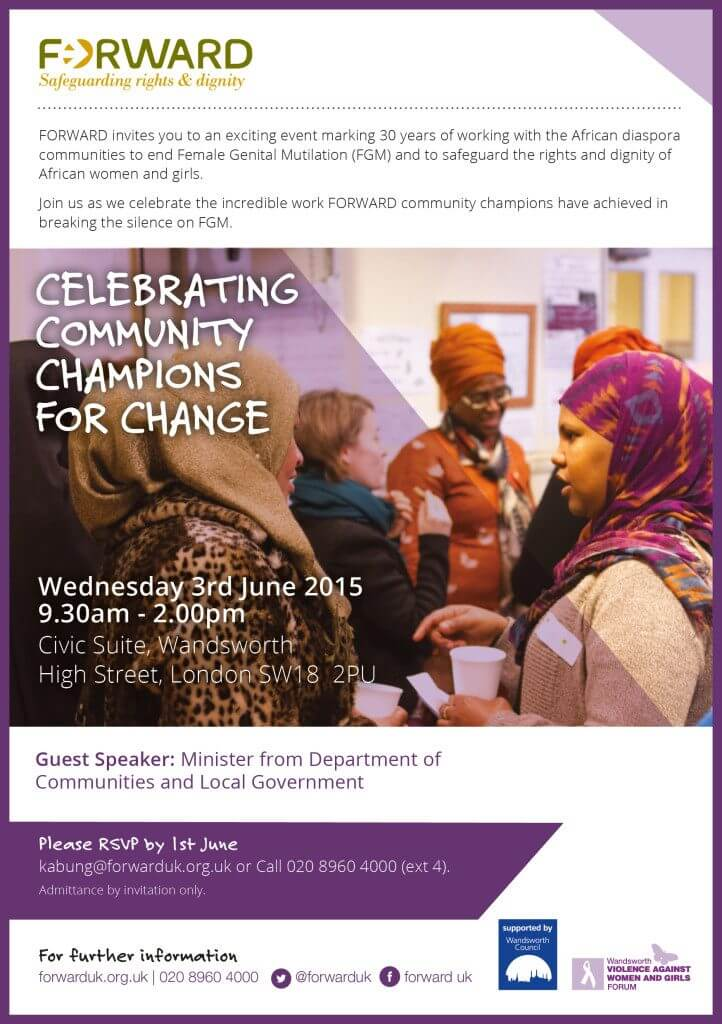 Celebrating Community Champions for Change