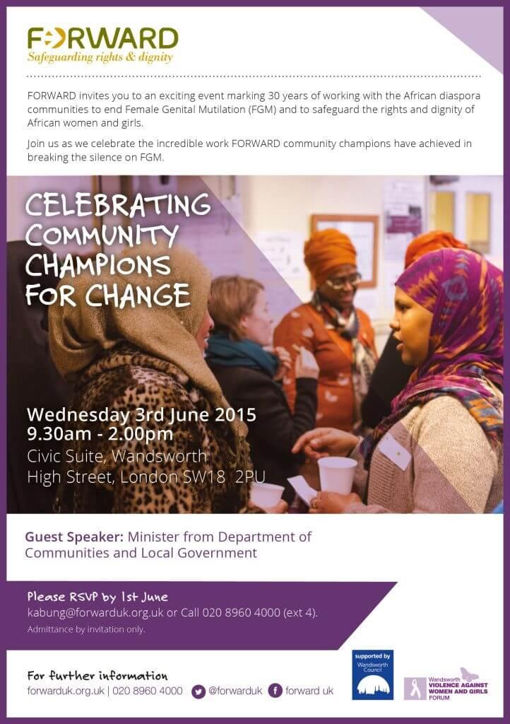 Celebrating Community Champions for Change