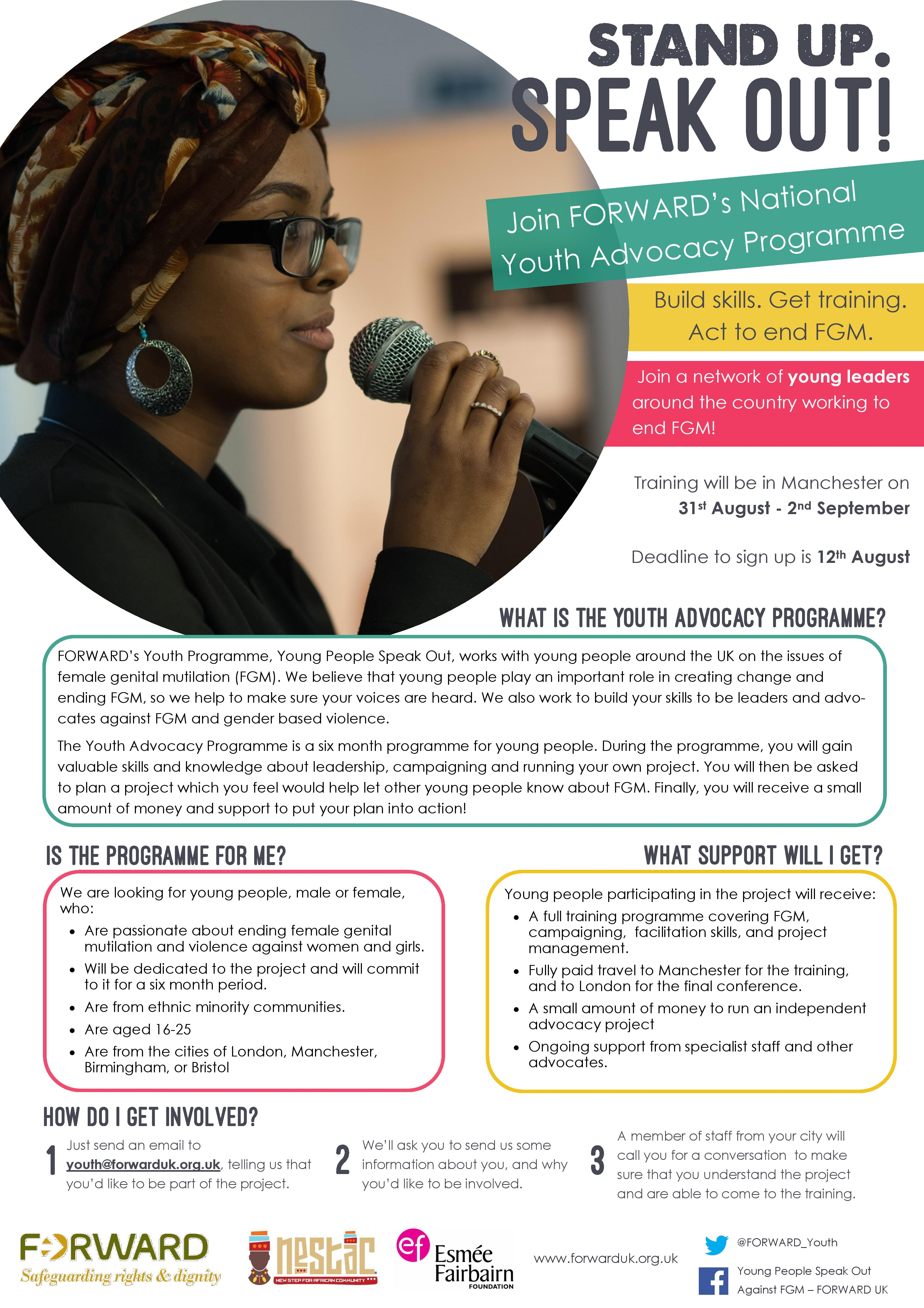 Join Our Youth Advocacy Programme!