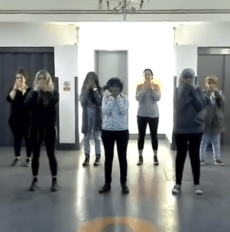 FLASHMOB Choreography