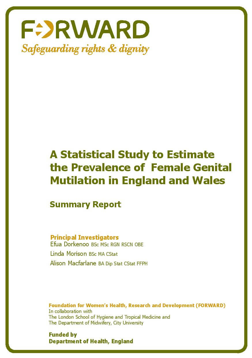 A Summary Report of the Prevalence of FGM in England and Wales