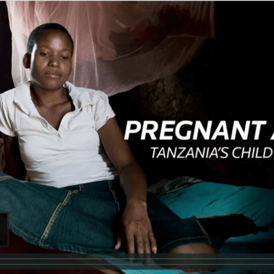 Pregnant at 13: Child Marriage in Tanzania