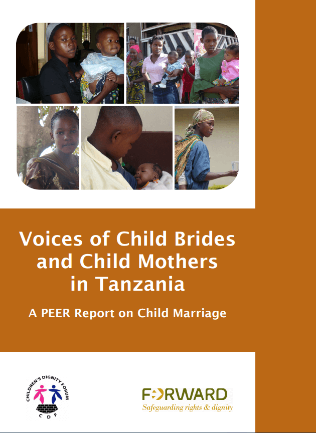 Voices of Child Brides and Child Mothers in Tanzania