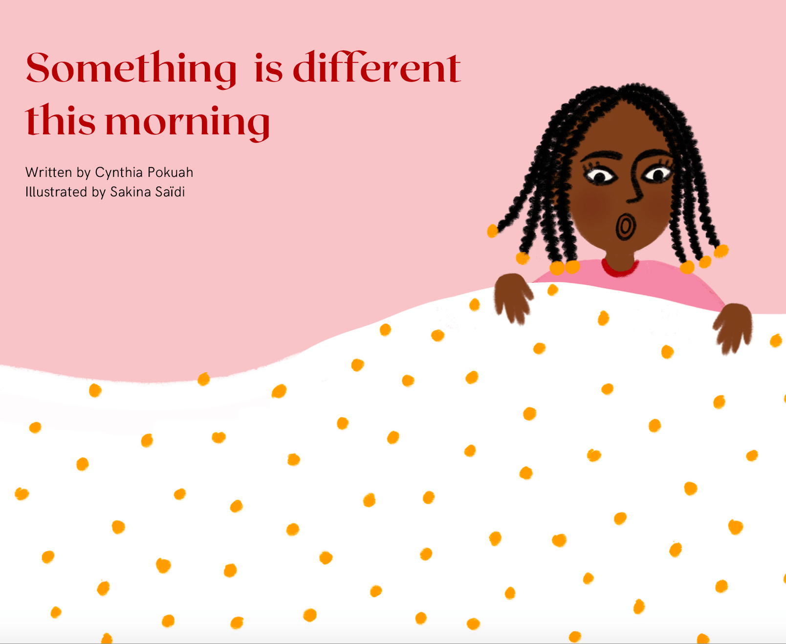 Book Launch: 'Something is Different this Morning'